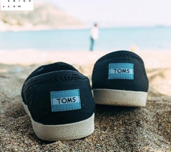 TOMS Black, boty, tenisky, one for one