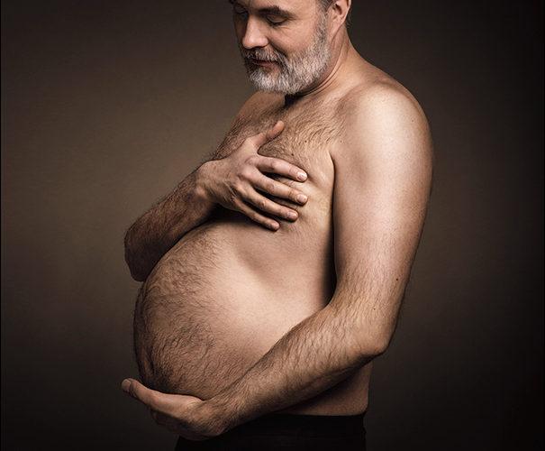těhotenské bříško