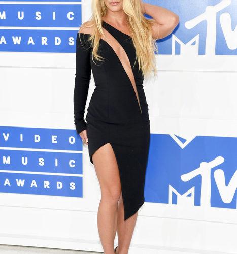 Britney Spears – červený koberec MTV Video Music 2016