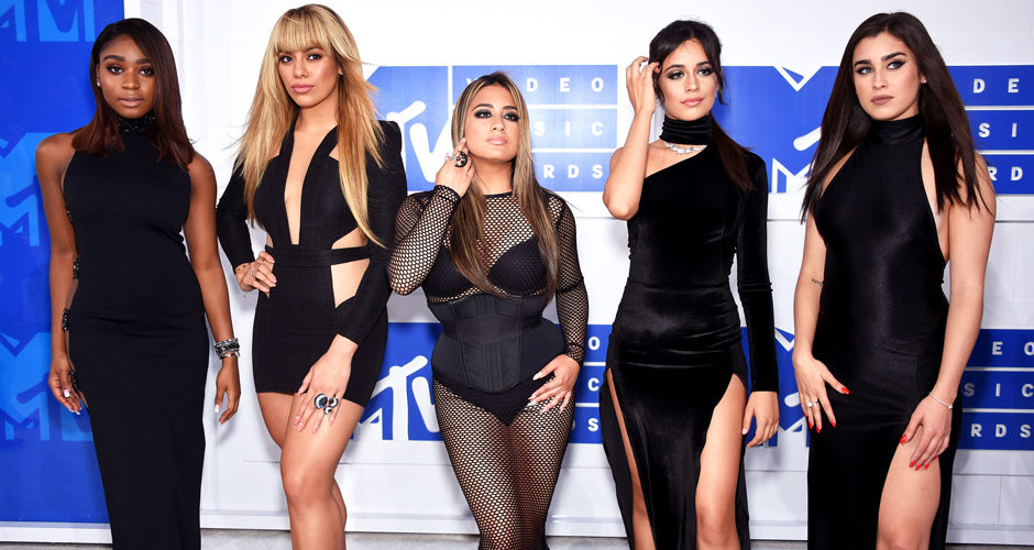 Fifth Harmony- červený koberec MTV Video Music 2016